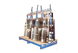 A Frame Glass Stillage