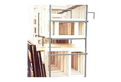 Double Deck Frame Storage Rack