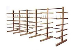 Double Sided Storage Rack
