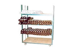 Horizontal Stacking Profile Trolley