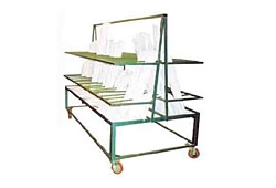 Raised Bed Cut Sash Trolley